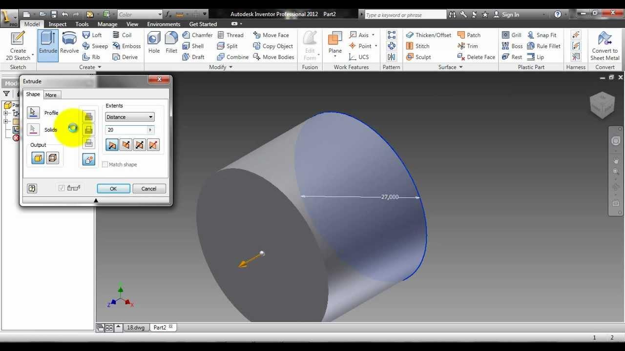 autodesk inventor 2012 piston piston rings endplugs and piston bolt rh youtube com Autodesk 2D Tutorial Autodesk 2013 Tutorials