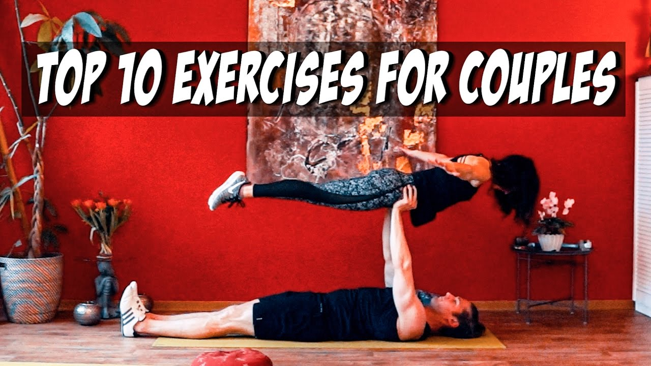 Top 10 Couple Partner Exercises For Beginners Workout