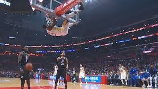 draymond-gets-saved-by-refs-after-getting-ejected-for-hanging-on-the-rim-warriors-vs-clippers