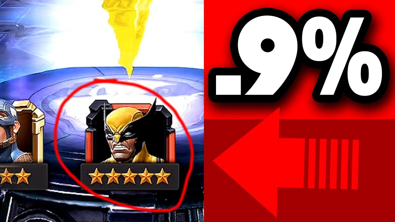 5x Tries for 5 Star Wolverine!