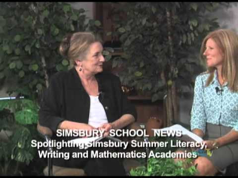 Simsbury School News: A preview of theSummer Arts, Literacy, Writing & Math Academies