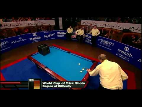 [HD] Billiard World Cup of Trick Shot 2012 - USA vs Europe Part 3