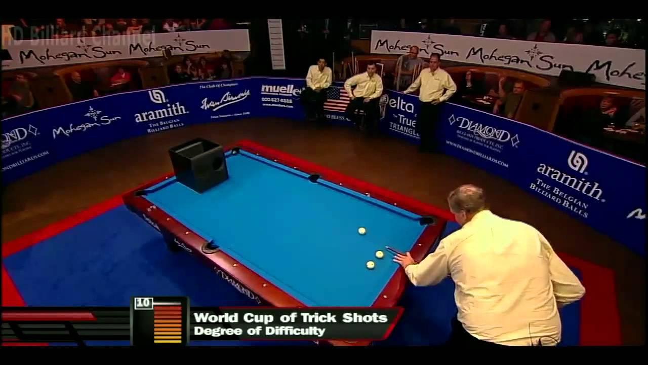 [HD] Billiard World Cup of Trick Shot 2012 - USA vs Europe Part 3