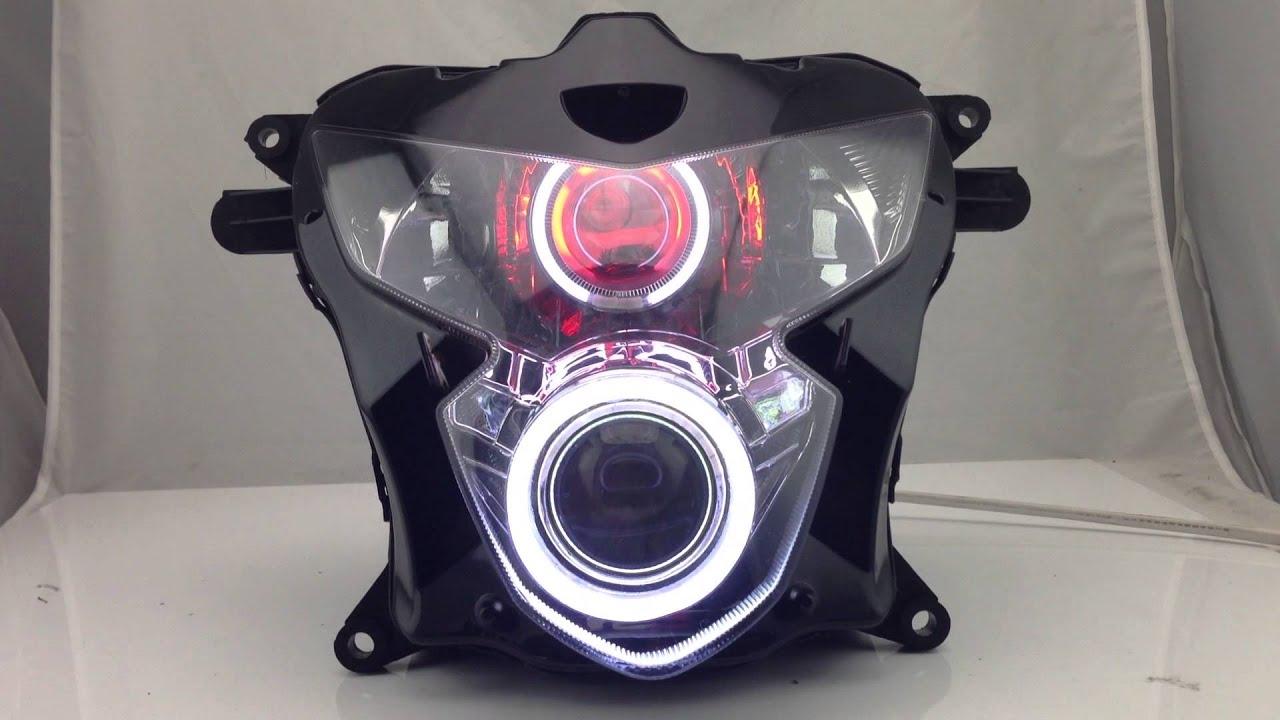 Suzuki Gsxr600 Gsxr750 K4 Angel Eye Hid Projector