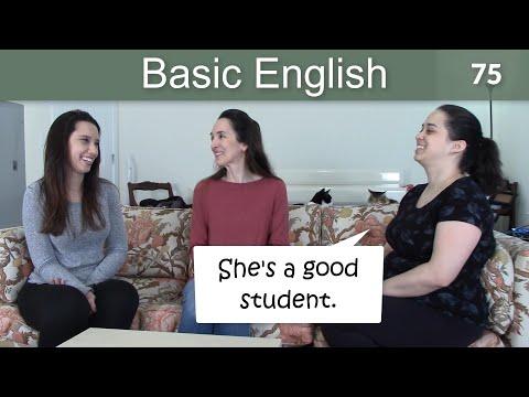 Lesson 75 ????? Basic English with Jennifer ??? Speaking Practice
