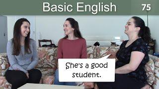 Lesson 75 👩🏫 Basic English with Jennifer 🎙️ Speaking Practice