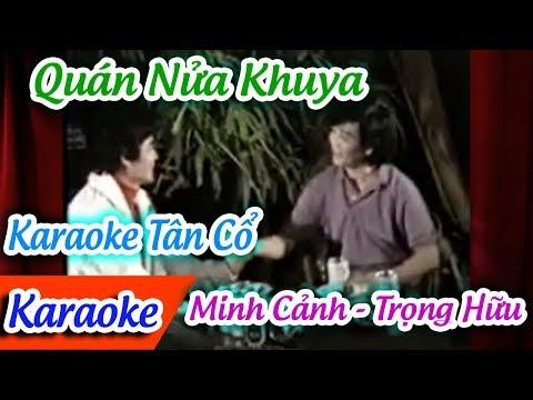 Quán Nửa Khuya Karaoke Tân Cổ   Karaoke Tân Cổ Quán Nửa Khuya   Cao Dung-Hoa Hồng?