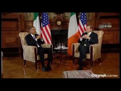 Obama: US-Irish relations 'could not be stronger'