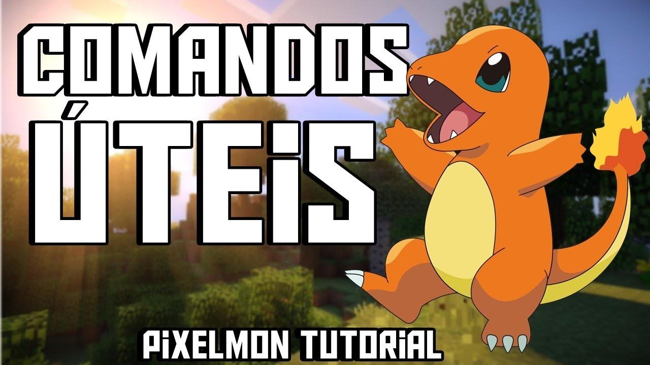 Download Comandos Uteis - Pixelmon Tutorial #4 (Parte 1/2)