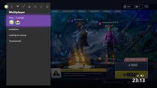 SALTY FORTNITE PLAYER GETS MAD OVER XBOX LIVE PARTY CHAT