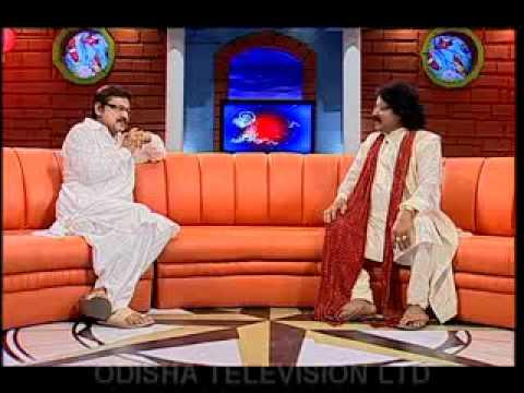 Arabinda Muduli in Aeita Jibana OTV Show with Mihir Das