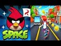 Angry Birds Space vs Bus Rush Gameplay HD