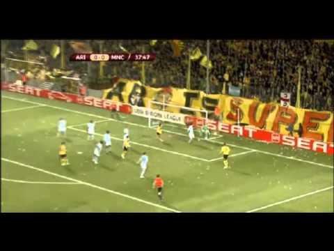 Aris Thessaloniki vs Manchester City 0-0 Europa League