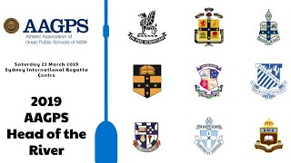 2019 AAGPS Head of the River