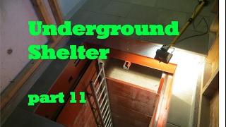 UNDERGROUND shelter, How to build an underground Bunker!!! #11