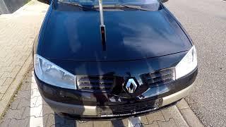 Motorhaube öffnen ohne Bowdenzug Renault Megane   open hood with broken cable