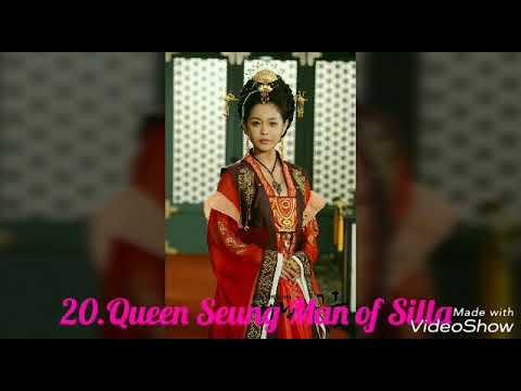 Top 20 Korean Queens/Empresses from historical dramas(Three kingdoms period)
