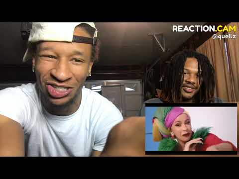 Cardi B, Bad Bunny & J Balvin - I Like It [Official Music Video] – REACTION VIDEO