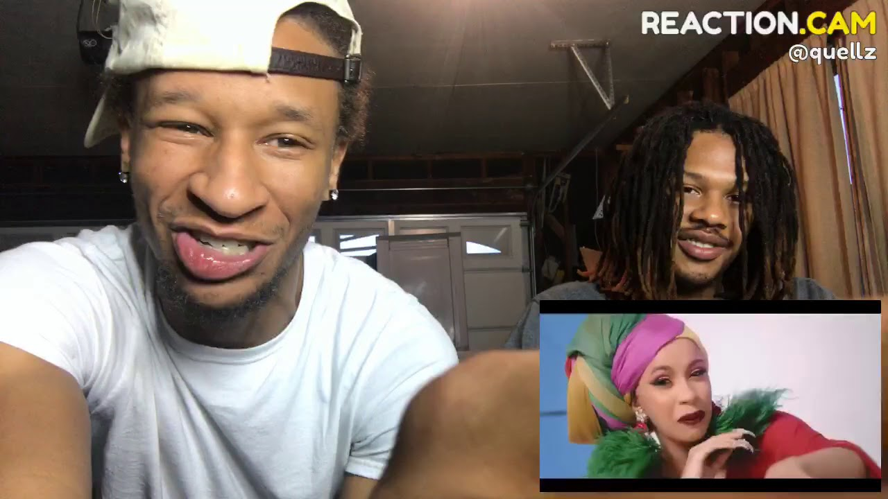Cardi B, Bad Bunny & J Balvin - I Like It [Official Music Video] – REACTION VIDEO #1