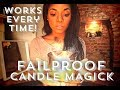 FAIL-PROOF (POWERFUL) CANDLE MAGICK 🔥🕯💫 || HINT: WATCH THE CANDLE FLAME!!