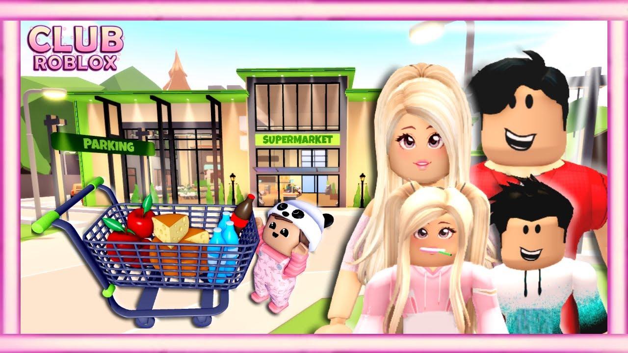 💰 Día de compras con mi familia - Club Roblox