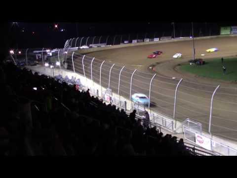 Lawrenceburg Speedway 4-1-17 Hornet Heat Race #1