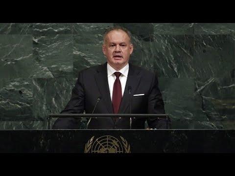 Andrej Kiska šokoval svet na valnom zhromaždení OSN v New Yorku