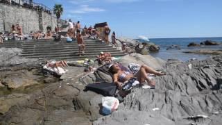 видео Пляжи Генуи