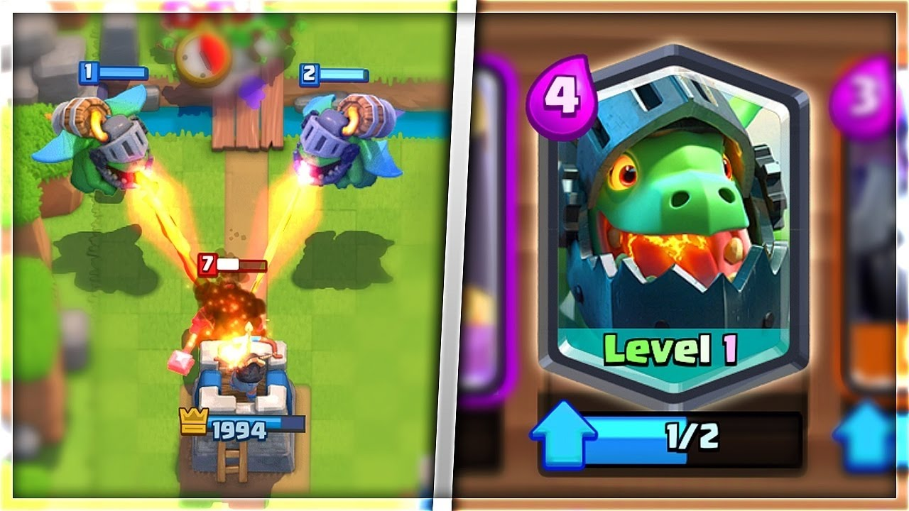 Clash Royale Inferno Dragon Vs All Cards Youtube