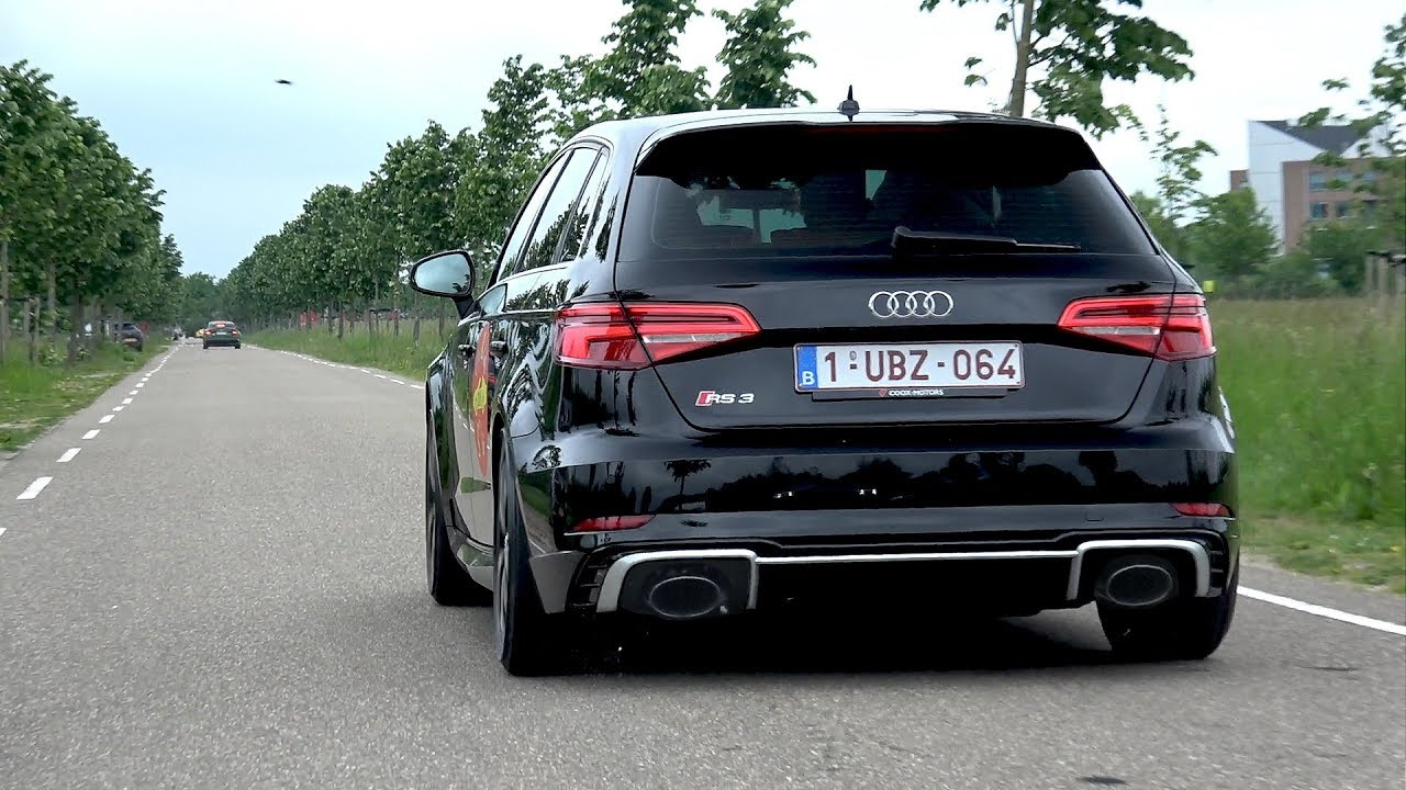 400HP Audi RS3 Sportback (2018) - REVS & Acceleration SOUNDS!
