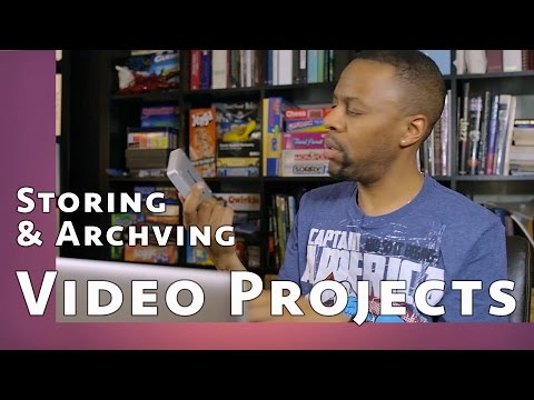 Storing and Archiving Video Projects: How to Organize Your Video Assets