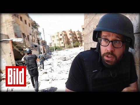 ISIS-Hauptstadt in Syrien - BILD-Reporter im Häuserkampf von Rakka / Teaser