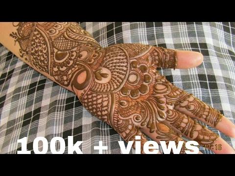 Rajasthani Bridal Mehndi Designs : Rajasthani bridal henna design youtube