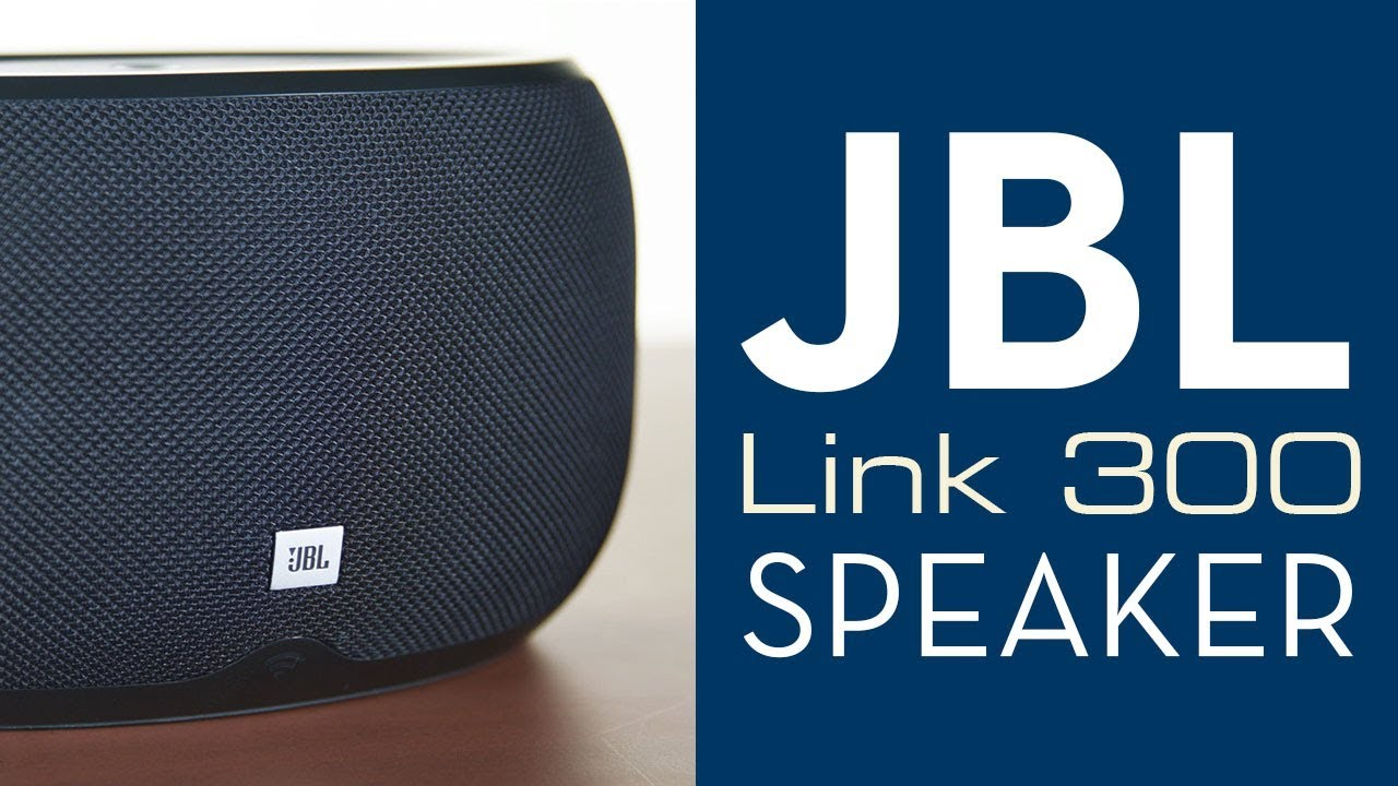 Overview: JBL Link 300 Bluetooth Voice Activated Speaker