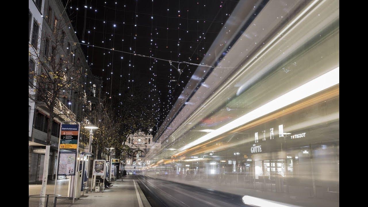 Lucy in the sky: illuminazione natalizia in bahnhofstrasse youtube