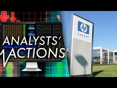 Wall Street Firm Begins Coverage of HP Inc., HP Enterprise; Pharmaceutical Giant Upgraded