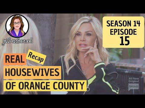 Bravo TV's Real Housewives Of Orange County RECAP Season 14 Ep.15 (2019)