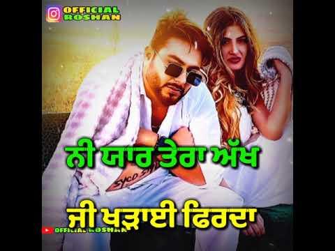 gaddi-piche-naa---khan-bhaini-|-shipra-goyal-|-new-whatsapp-status-|-official-roshan