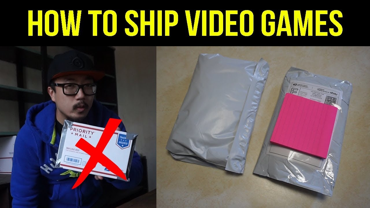 How To Ship Video Games On Ebay Cheap Youtube