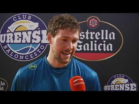 Kevin Van Wijk jugador Estrella Galicia del mes de octubre 19 11 19