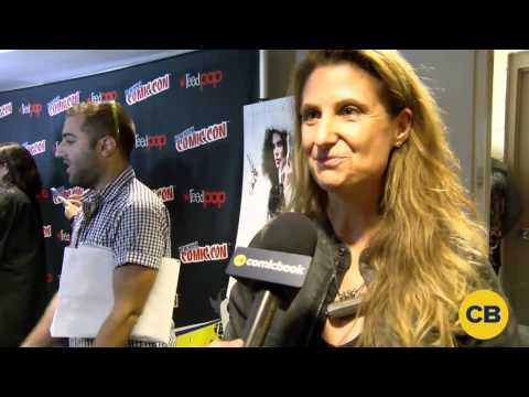 Director of Underworld: Blood Wars, Anna Foerster at the New York Comic Con