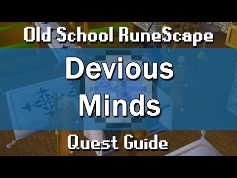 OSRS] Devious Minds Quest Guide