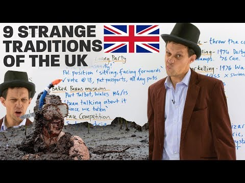 Strange & unusual traditions of the United Kingdom