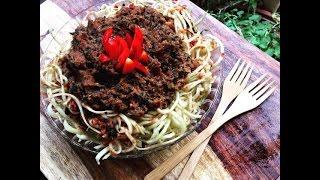 The Best Raw Vegan Spaghetti Sauce Ever !!!