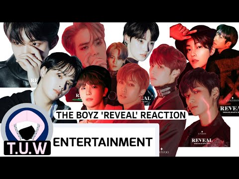 THE BOYZ 'REVEAL' REACTION FROM ANGJULIE FROM T.U.W