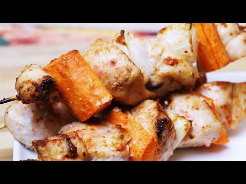 Вкусный ШАШЛЫК  из Курицы: Пальчики Оближешь