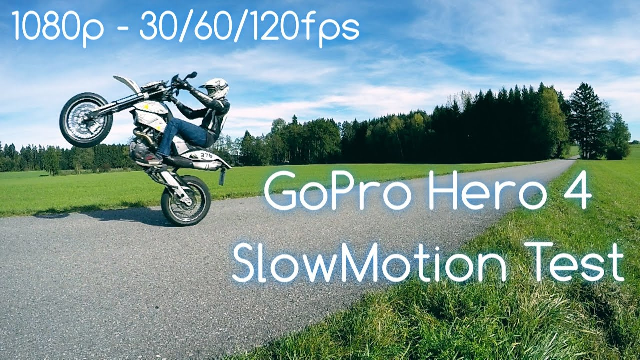 GoPro Hero 4 Black | 1080p 30/60/120 fps | Slow Motion Comparison ...