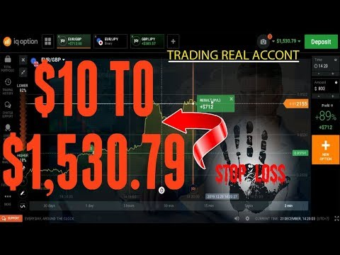 Binary Options Strategy 2020 | 100% WIN GUARANTEED – Deposit $10 Whitdraw $1,530.79 -Trading in Real