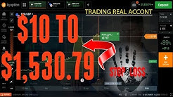 Binary Options Strategy 2020 | 100% WIN GUARANTEED - Deposit $10 Whitdraw $1,530.79 -Trading in Real