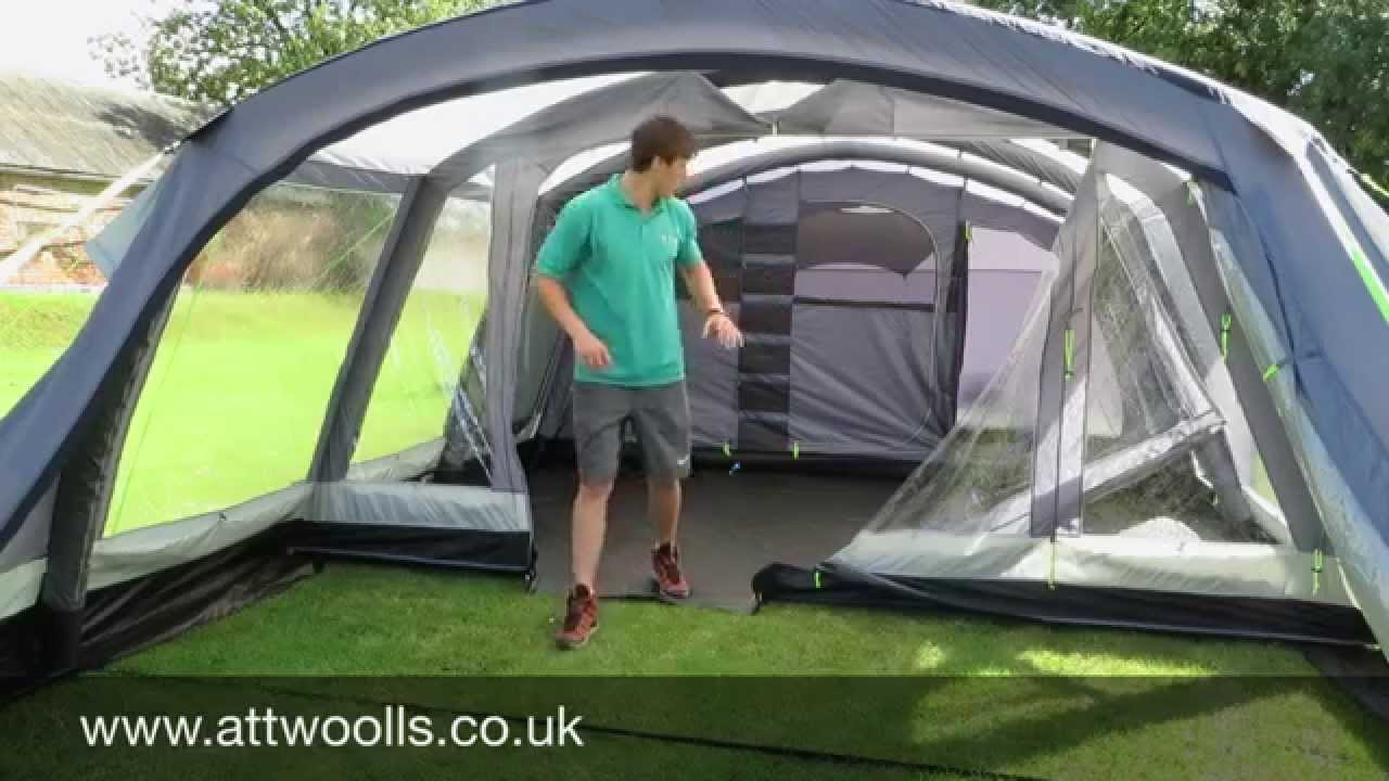 Kampa Croyde 6 Air Review Youtube